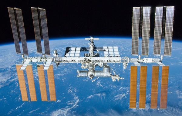 ISS - Image courtesy of NASA